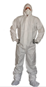 Picture of Coveralls - White Microporous type 5 & 6 -4XL-CLTH832105- (CTN-25)