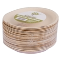 Picture of Palm Leaf / Bamboo Biodegradable Plate - 180mm Round-BIOD079080- (CTN-100)