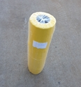 Picture of Bin Liner 240l Plastic Bag LDPE 1440mm (L) x 630mm (W) + 480mm (G) - YELLOW TINT-LDPE005920- (ROLL-100)