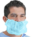 Picture of Beard Cover Blue non woven - Double Loop-APPR492964- (CTN-2000)
