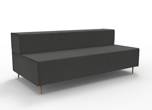 Picture of Lounge - Triple Seater 1830 x 940 x 710-FURN357362- (EA)