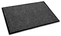 Picture of Mat Super Brush Ribbed Entrance 900mm x 1500mm - Dark Grey / Charcoal-MATT359038- (EA)